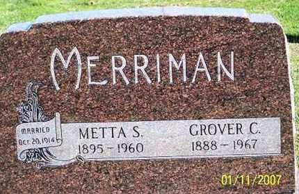 MERRIMAN, GROVER C. - Ross County, Ohio | GROVER C. MERRIMAN - Ohio Gravestone Photos