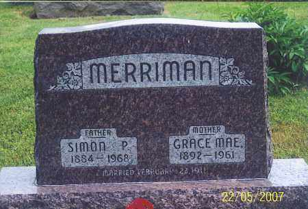 MERRIMAN, SIMON P. - Ross County, Ohio | SIMON P. MERRIMAN - Ohio Gravestone Photos