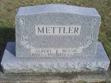 METTLER, ALBERT - Ross County, Ohio | ALBERT METTLER - Ohio Gravestone Photos