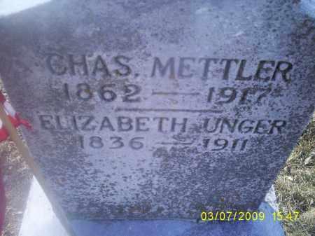 UNGER METTLER, ELIZABETH - Ross County, Ohio | ELIZABETH UNGER METTLER - Ohio Gravestone Photos