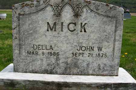MICK, DELLA - Ross County, Ohio | DELLA MICK - Ohio Gravestone Photos