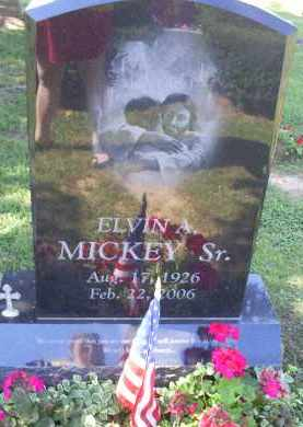 MICKEY, ELVIN A. SR. - Ross County, Ohio | ELVIN A. SR. MICKEY - Ohio Gravestone Photos