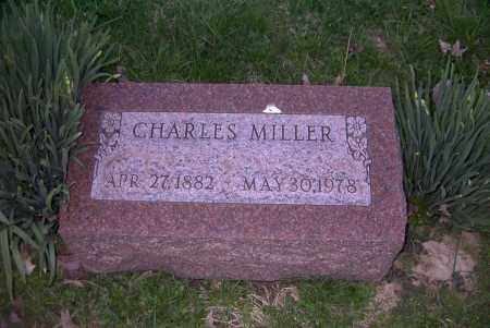 MILLER, CHARLES - Ross County, Ohio | CHARLES MILLER - Ohio Gravestone Photos