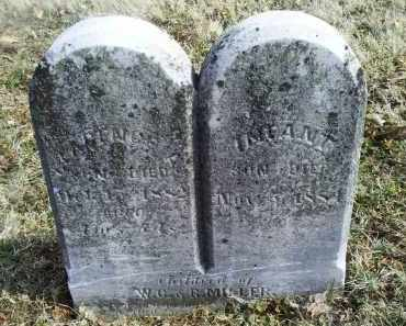 MILLER, INFANT - Ross County, Ohio | INFANT MILLER - Ohio Gravestone Photos