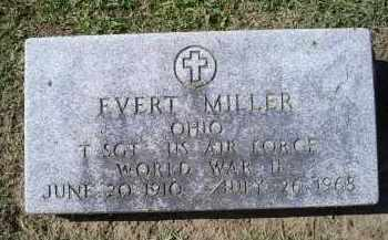 MILLER, EVERT - Ross County, Ohio | EVERT MILLER - Ohio Gravestone Photos