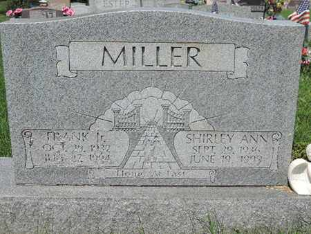 MILLER, SHIRLEY ANN - Ross County, Ohio | SHIRLEY ANN MILLER - Ohio Gravestone Photos
