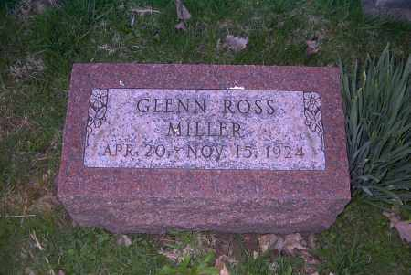 MILLER, GLENN ROSS - Ross County, Ohio | GLENN ROSS MILLER - Ohio Gravestone Photos