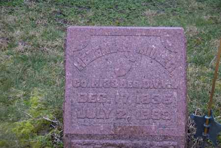MILLER, HEZEKIAH - Ross County, Ohio | HEZEKIAH MILLER - Ohio Gravestone Photos