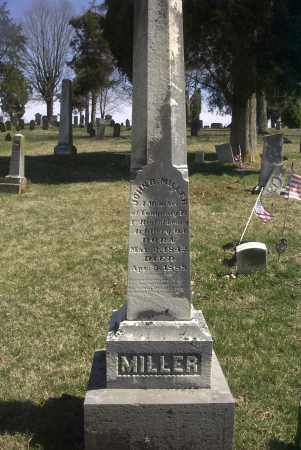 MILLER, JOHN B. - Ross County, Ohio | JOHN B. MILLER - Ohio Gravestone Photos