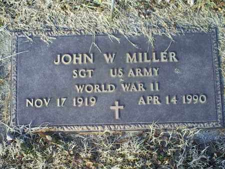 MILLER, JOHN W. - Ross County, Ohio | JOHN W. MILLER - Ohio Gravestone Photos