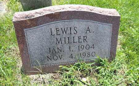 MILLER, LEWIS A - Ross County, Ohio | LEWIS A MILLER - Ohio Gravestone Photos