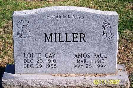 MILLER, AMOS PAUL - Ross County, Ohio | AMOS PAUL MILLER - Ohio Gravestone Photos