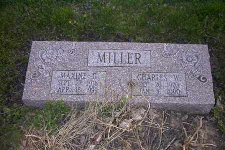 MILLER, CHARLES W. - Ross County, Ohio | CHARLES W. MILLER - Ohio Gravestone Photos