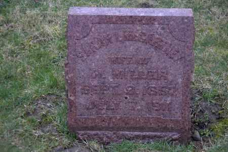 MILLER, SARAH ISABELLA - Ross County, Ohio | SARAH ISABELLA MILLER - Ohio Gravestone Photos