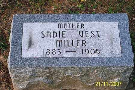 MILLER, SADIE - Ross County, Ohio | SADIE MILLER - Ohio Gravestone Photos