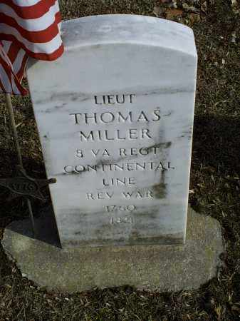 MILLER, THOMAS - Ross County, Ohio   THOMAS MILLER - Ohio Gravestone Photos