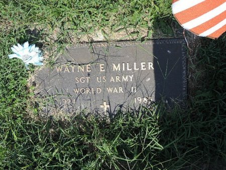 MILLER, WAYNE E. - Ross County, Ohio | WAYNE E. MILLER - Ohio Gravestone Photos