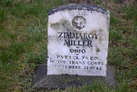MILLER, ZIMMAROY - Ross County, Ohio | ZIMMAROY MILLER - Ohio Gravestone Photos