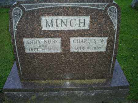 MINCH, CHARLES W. - Ross County, Ohio | CHARLES W. MINCH - Ohio Gravestone Photos