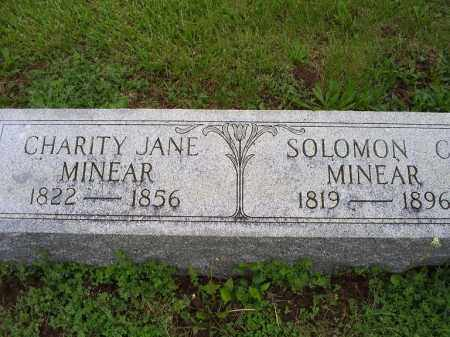 MINEAR, CHARITY JANE - Ross County, Ohio | CHARITY JANE MINEAR - Ohio Gravestone Photos
