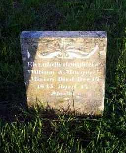 MINEAR, ELIZABETH - Ross County, Ohio   ELIZABETH MINEAR - Ohio Gravestone Photos