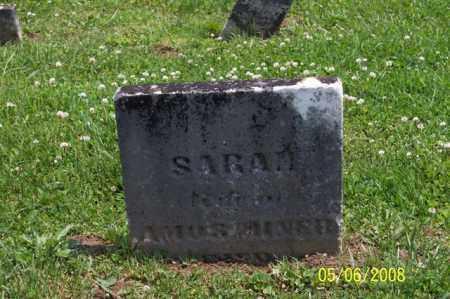 MINER, SARAH - Ross County, Ohio | SARAH MINER - Ohio Gravestone Photos