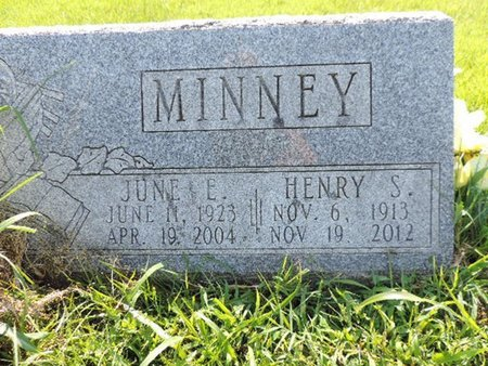 MINNEY, JUNE E - Ross County, Ohio | JUNE E MINNEY - Ohio Gravestone Photos
