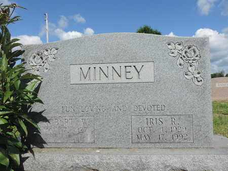 MINNEY, IRIS R. - Ross County, Ohio | IRIS R. MINNEY - Ohio Gravestone Photos