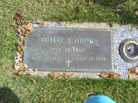 MINNIX, ROBERT S. - Ross County, Ohio | ROBERT S. MINNIX - Ohio Gravestone Photos