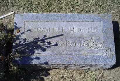MITCHELL, ELIZABETH E. - Ross County, Ohio | ELIZABETH E. MITCHELL - Ohio Gravestone Photos