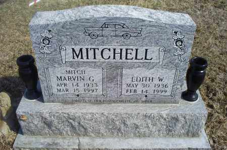 MITCHELL, EDITH W. - Ross County, Ohio | EDITH W. MITCHELL - Ohio Gravestone Photos