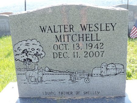 MITCHELL, WALTER WESLEY - Ross County, Ohio | WALTER WESLEY MITCHELL - Ohio Gravestone Photos
