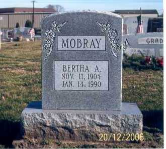 MOBRAY, BERTHA ANN - Ross County, Ohio | BERTHA ANN MOBRAY - Ohio Gravestone Photos