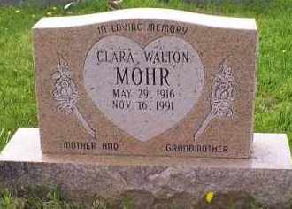 WALTON MOHR, CLARA - Ross County, Ohio | CLARA WALTON MOHR - Ohio Gravestone Photos