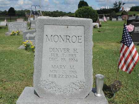 MONROE, MARY M. - Ross County, Ohio | MARY M. MONROE - Ohio Gravestone Photos