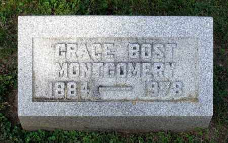 BOST MONTGOMERY, GRACE - Ross County, Ohio | GRACE BOST MONTGOMERY - Ohio Gravestone Photos