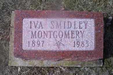 MONTGOMERY, IVA SMIDLEY - Ross County, Ohio | IVA SMIDLEY MONTGOMERY - Ohio Gravestone Photos