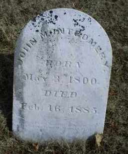 MONTGOMERY, JOHN - Ross County, Ohio | JOHN MONTGOMERY - Ohio Gravestone Photos