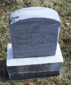 MONTGOMERY, MARY E. - Ross County, Ohio | MARY E. MONTGOMERY - Ohio Gravestone Photos