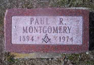MONTGOMERY, PAUL R. - Ross County, Ohio | PAUL R. MONTGOMERY - Ohio Gravestone Photos