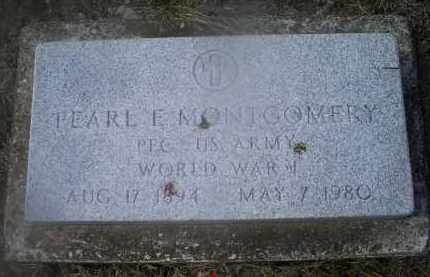 MONTGOMERY, PEARL E. - Ross County, Ohio | PEARL E. MONTGOMERY - Ohio Gravestone Photos