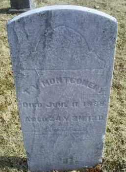 MONTGOMERY, T. V. - Ross County, Ohio   T. V. MONTGOMERY - Ohio Gravestone Photos