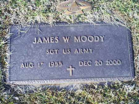 MOODY, JAMES W. - Ross County, Ohio | JAMES W. MOODY - Ohio Gravestone Photos