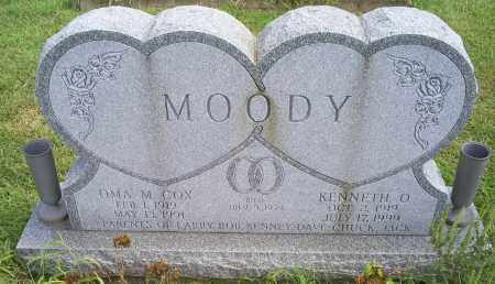 MOODY, OMA MAE - Ross County, Ohio | OMA MAE MOODY - Ohio Gravestone Photos