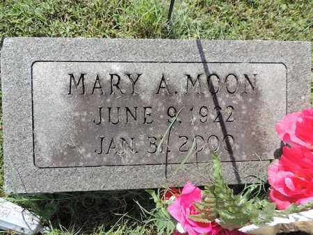 MOON, MARY A. - Ross County, Ohio | MARY A. MOON - Ohio Gravestone Photos