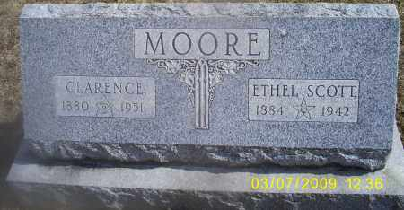 SCOTT MOORE, ETHEL - Ross County, Ohio | ETHEL SCOTT MOORE - Ohio Gravestone Photos