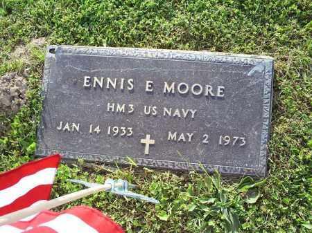 MOORE, ENNIS E. - Ross County, Ohio | ENNIS E. MOORE - Ohio Gravestone Photos