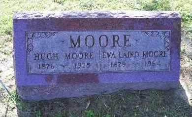LAIRD MOORE, EVA - Ross County, Ohio | EVA LAIRD MOORE - Ohio Gravestone Photos