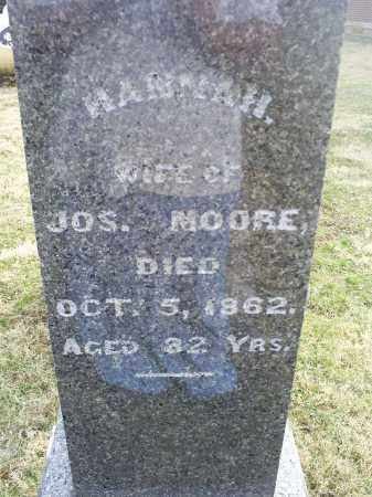 MOORE, HANNAH - Ross County, Ohio | HANNAH MOORE - Ohio Gravestone Photos