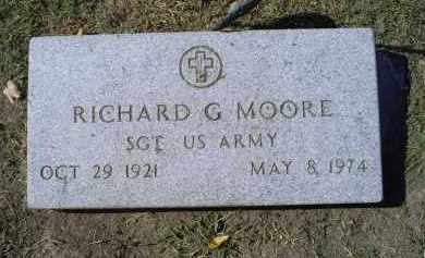 MOORE, RICHARD G. - Ross County, Ohio | RICHARD G. MOORE - Ohio Gravestone Photos